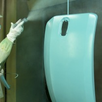 工業製品塗装の領域でNo.1企業。高い技術力が大手企業から信頼されています。